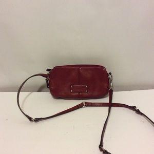 Tignanello cross body red purse/wallet  8x5